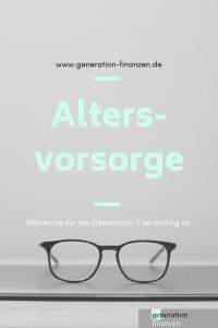 Altersvorsorge für die Generation Y